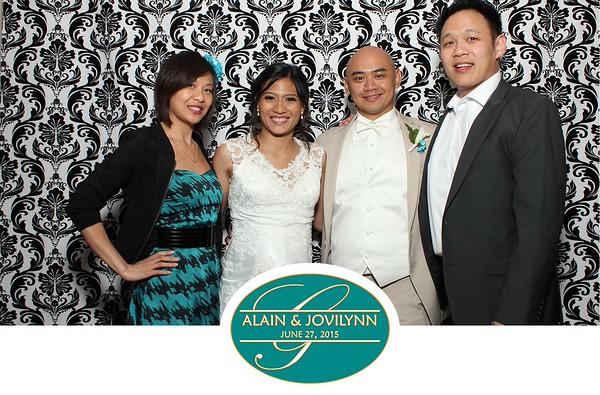 Alain and Jovilynn 6-27-2015
